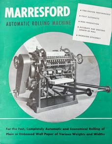 Marresford Machine Precursor to ELSNER  V-Series Rewinder