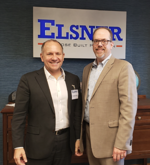 Congressman Smucker and Bert Elsner, II