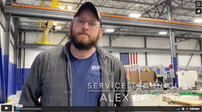 Alex Baxter, Service Technician