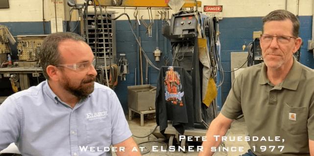 ELSNER Welders:  Pete Truesdale