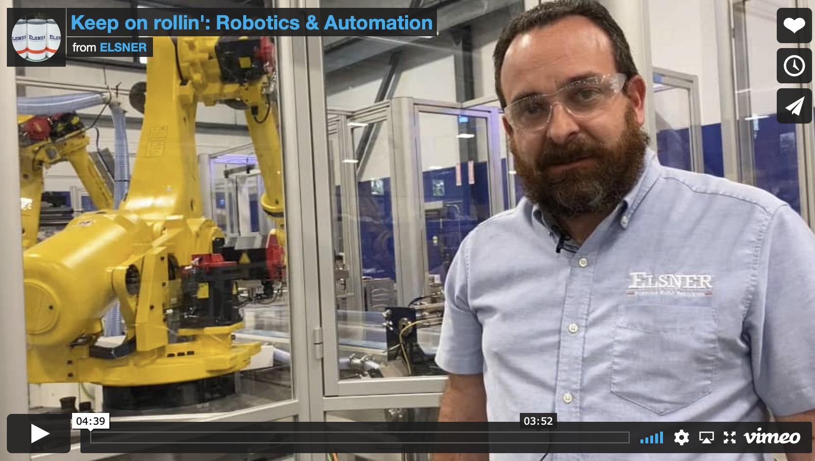 Keep on Rollin':  Robotics & Automation video