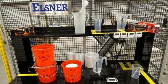 ETC Liquid Absorption Testing