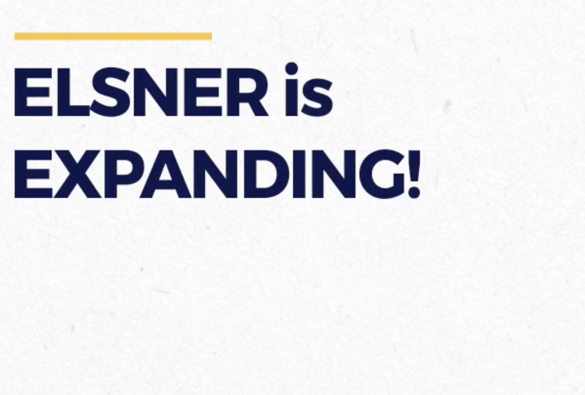 ELSNER is Expanding! Join our team!